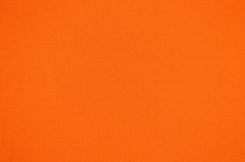 Wholesale Fabric T Knit Ribbing Orange 187 Fabric Merchants