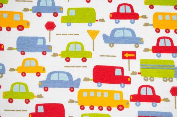 Cotton Spandex Kids Cars